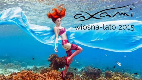 AXAMI wiosna-lato 2015 – niezwykła podwodna sesja