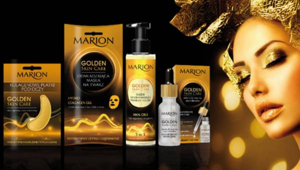 Seria kosmetyków GOLDEN SKIN CARE od Marion