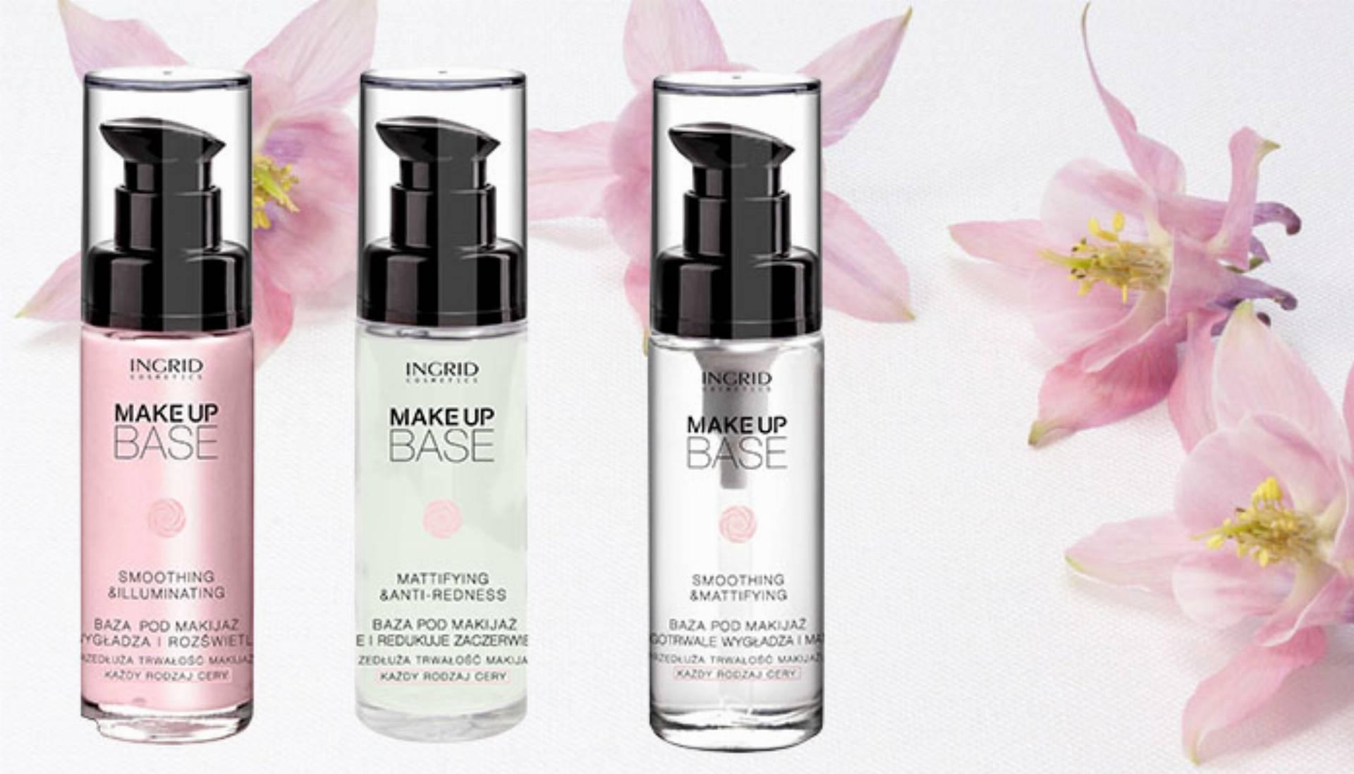 Bazy pod makijaż od INGRID Cosmetics
