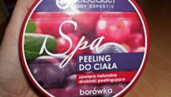 Be Beauty Body Expertiv, Peeling do ciała BORÓWKA