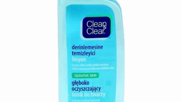 Clean&Clear głęboko oczyszczający tonik do twarzy