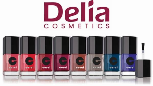 Zimowe lakiery do paznokci CORAL od Delia Cosmetics
