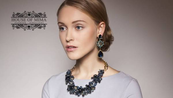 Ozdobna biżuteria marki House of Mima