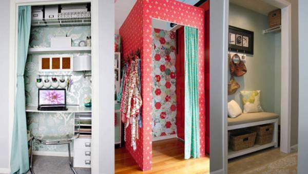 INSPIRACJE: Jak wykorzystać stare szafy i wnęki