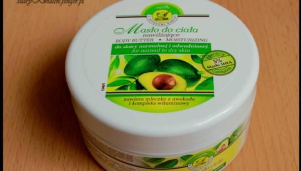 Z Apteczki Babuni – Nawilżające masło do ciała z mleczkiem z awokado