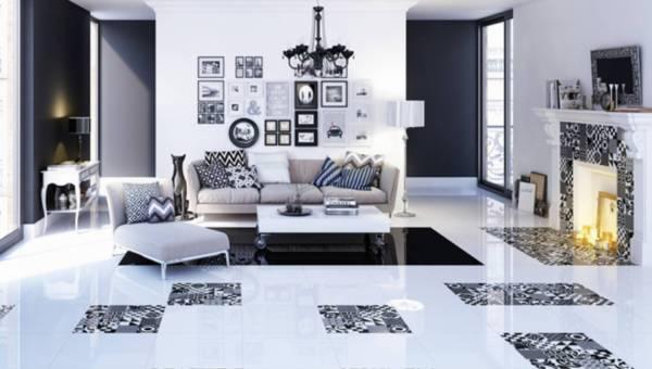 Inspiracje do salonu – płytki ceramiczne zamiast drewna na podłodze?