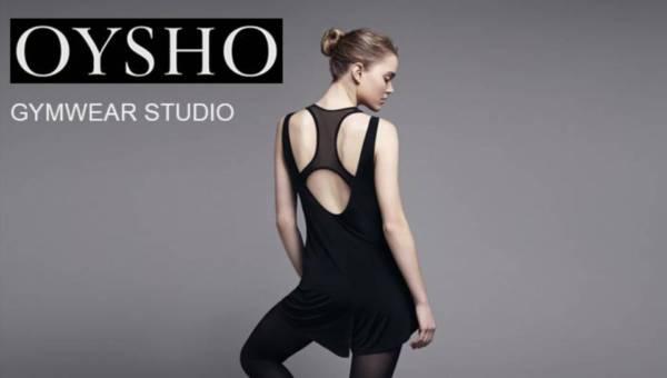 OYSHO Gymwear Studio na sezon wiosna-lato 2015