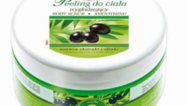 Z Apteczki Babuni, Peeling z ekstraktem z oliwek