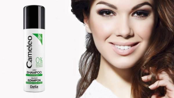 Suchy szampon do włosów Cameleo od Delia Cosmetics