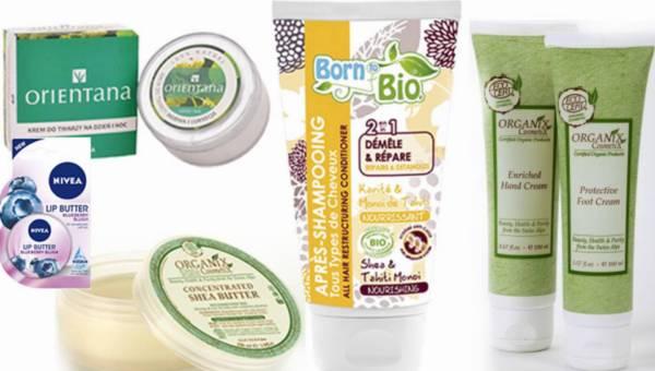 PRZEGLĄD: kosmetyki z masłem shea – TOP 5