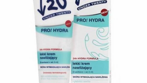 Under 20- lekki krem nawilżający-Pro! Hydra