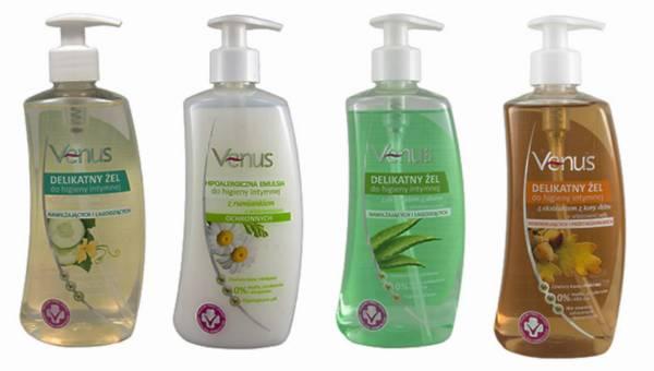 Kosmetyki do higieny miejsc intymnych VENUS od PharmaCF