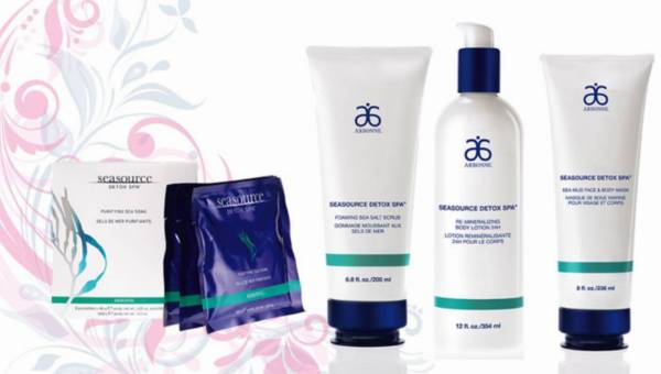Domowe SPA z SeaSource Detox od Arbonne