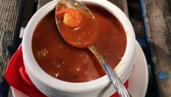 Przepis na: Rozgrzewająca zupa rybna