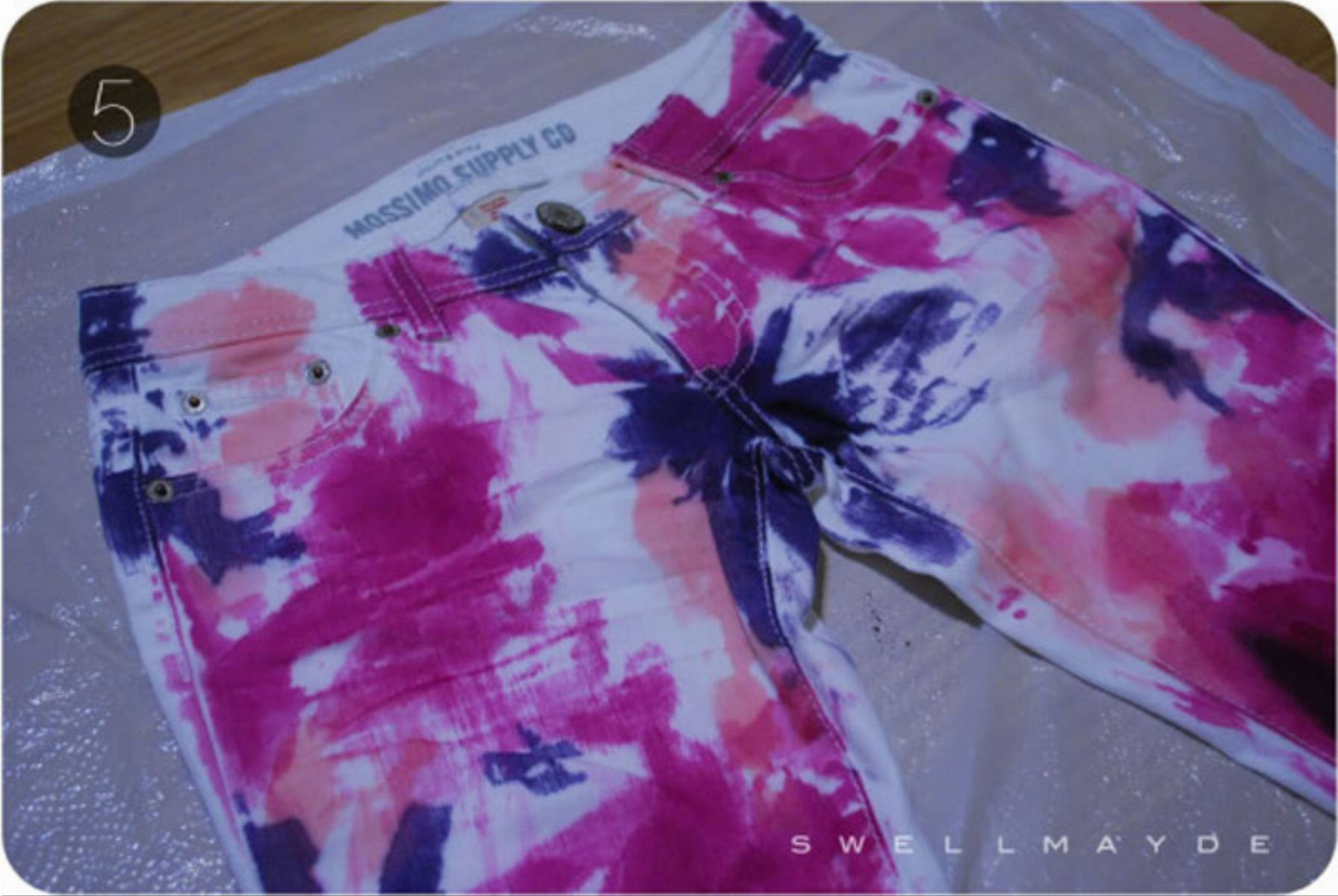 Как покрасить брюки в белый цвет в домашних условиях
