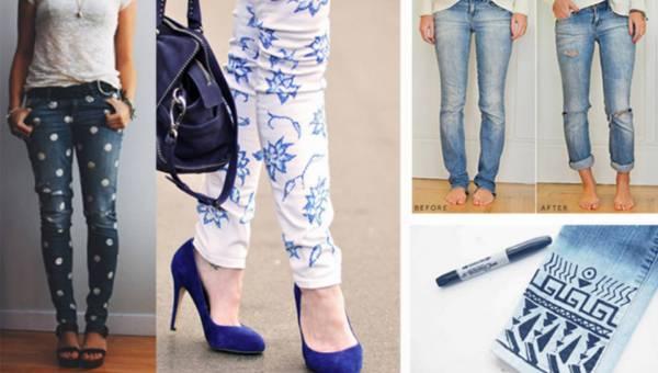 DIY: Drugie życie dla starych jeansów