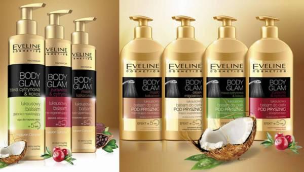 Seria kosmetyków Eveline BODY GLAM