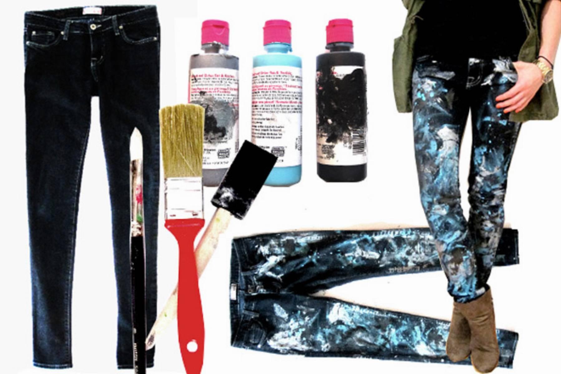 Как сделать джинсы варенки в домашних условиях фото пошагово