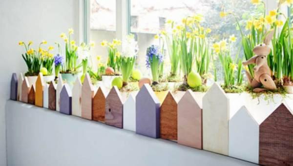 DIY – Wielkanocny ogródek domowej roboty
