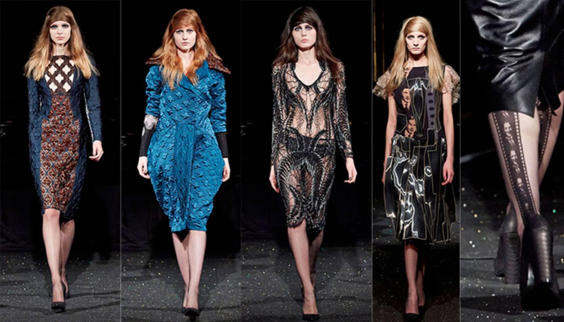 gosia baczyńska na paris fashion week