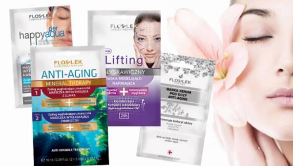 Maseczki FLOSLEK dla pięknej skóry na wiosnę