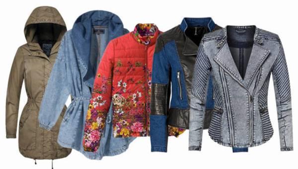 Modne kurtki wiosna 2015 – przegląd shoppingowy