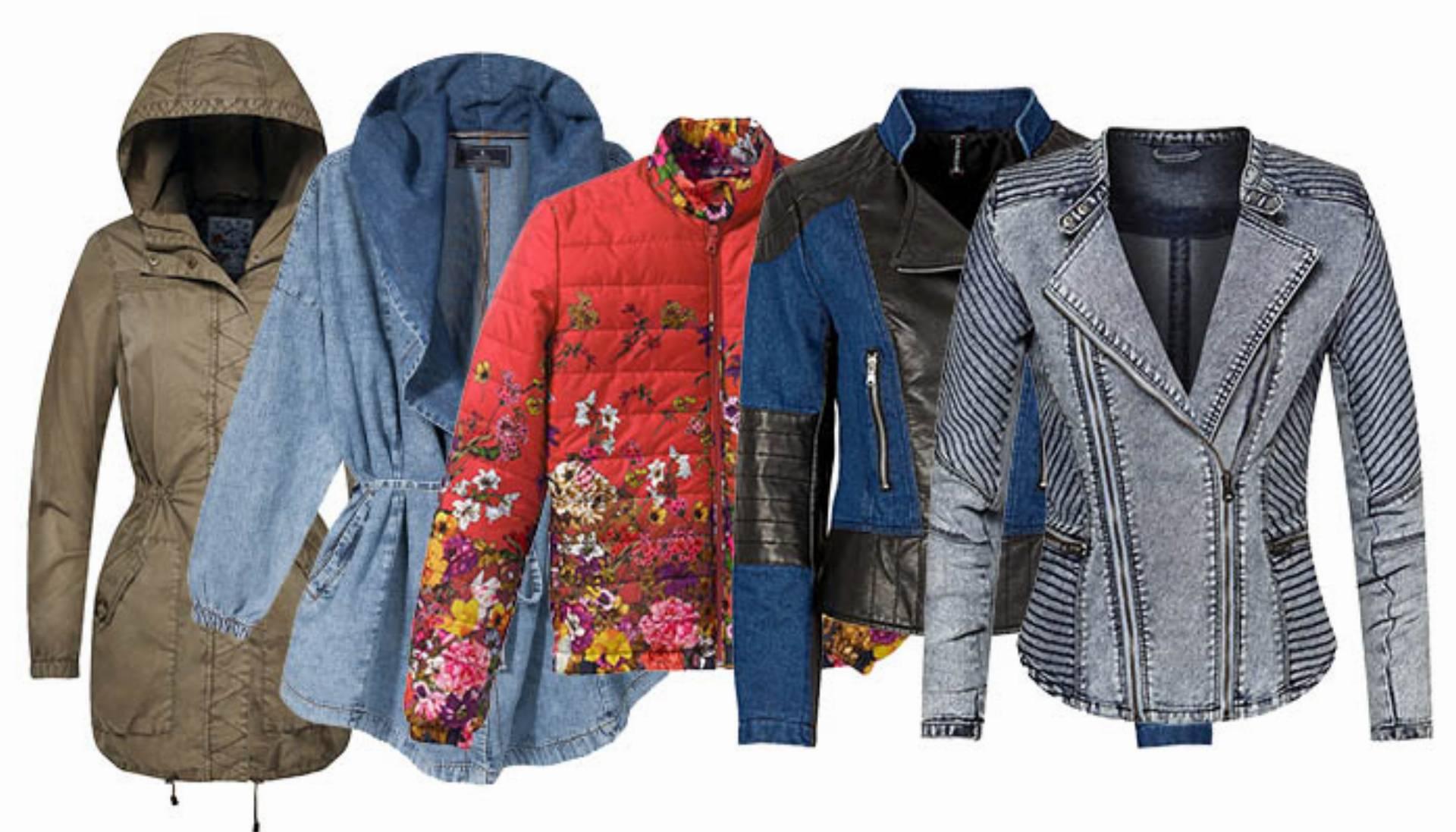 modne kurtki wiosna 2015