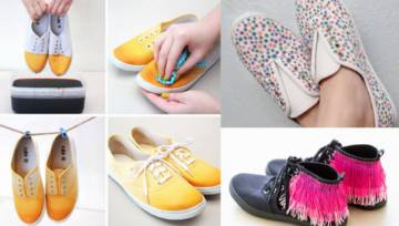 DIY buty:  Jak odmłodzić stare buty – 9 inspirujących pomysłów