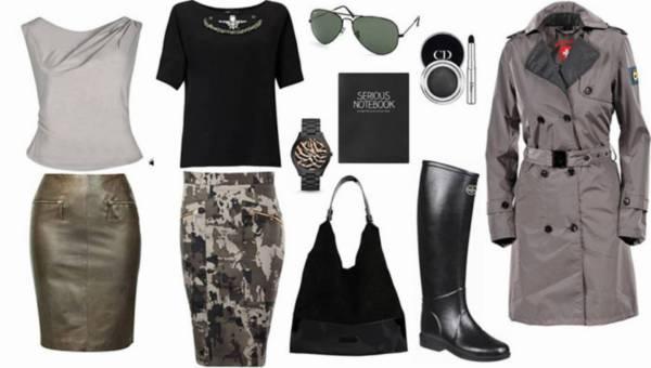 Styl militarny – 5 stylizacji