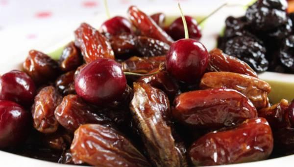 Cenne składniki zawarte w suszonych owocach