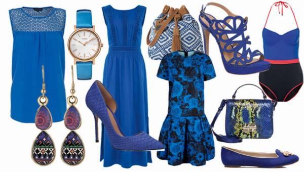 Shoppingowy przegląd: Szafirowe ubrania i dodatki