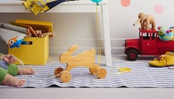 DIY: zabawkowy zając z drewna