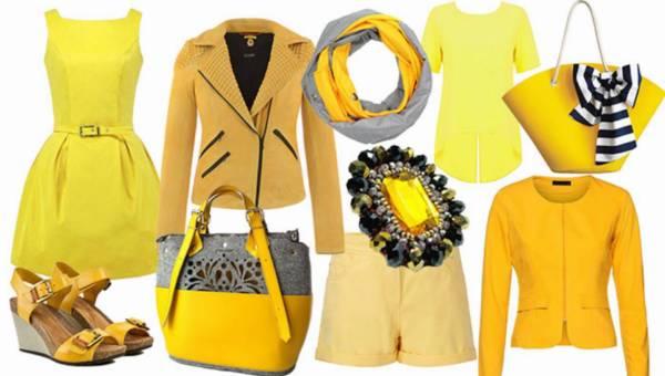 Shoppingowy przegląd: Żółte ubrania i dodatki