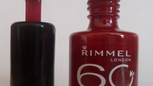 RIMMEL London – Lakier do paznokci 60 seconds
