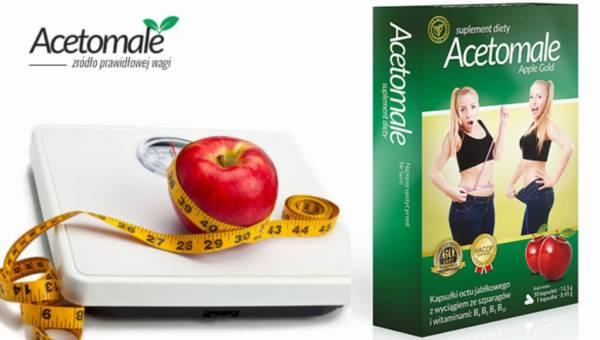 Acetomale – suplement wspomagający odchudzanie