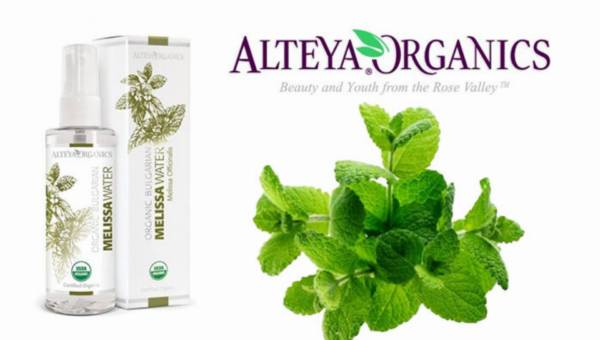 Organiczny hydrolat z melisy od Alteya Organics