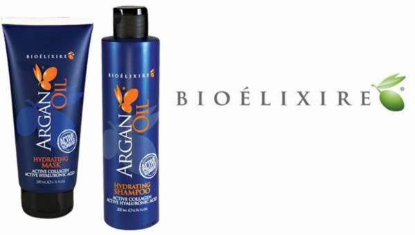 Bioelixire Argan Oil Active Hydrating – Maska i szampon do włosów