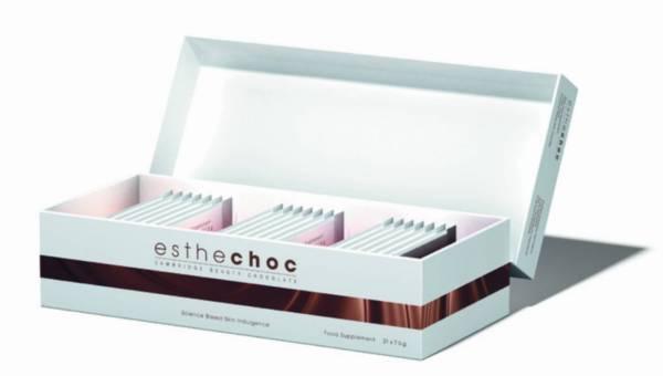 Pierwsza czekolada na zmarszczki! – Esthechoc Beauty Chocolate