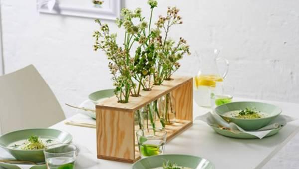 DIY: Wiosenny  stojak na kwiaty