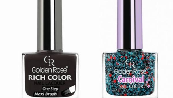 Golden Rose – Duet lakierów: RICH COLOR i CARNIVAL