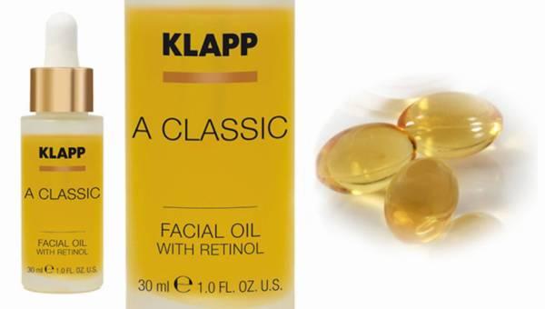 KLAPP Cosmetics – Olejek do twarzy z retinolem