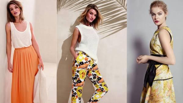 Marks & Spencer wiosna-lato 2015 w kolorach słońca