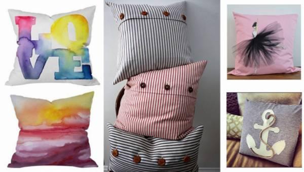 DIY: Ozdobne poduszki