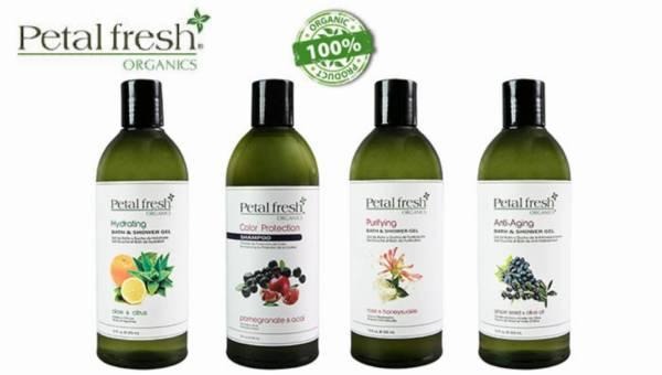 Naturalne składniki w kosmetykach – NOWOŚĆ:  Petal Fresh Organics