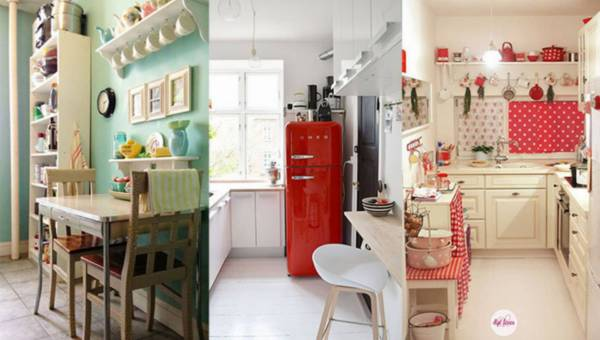 Aranżacyjne pomysły na małą kuchnię