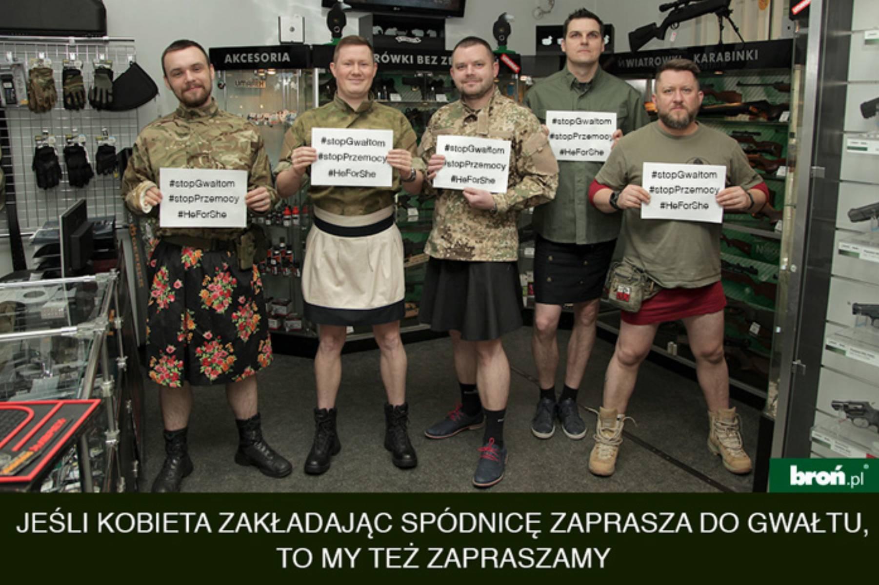 Pracownicy bron.pl wzięli udział w akcji Razem przeciw kulturze gwałtu (mat. pras.)