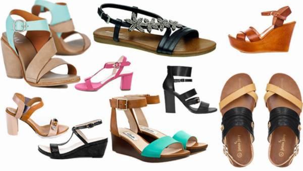 Shoppingowy przegląd: Modne sandały lato 2015