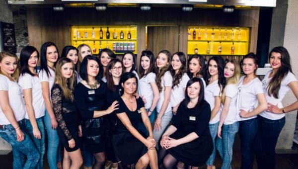Warsztaty Piękna Golden Rose dla finalistek Miss Polonia Studentek Łodzi 2015