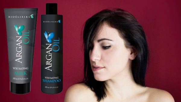 NOWOŚĆ: Seria Argan Oil Volumizing – szampon i maska do włosów