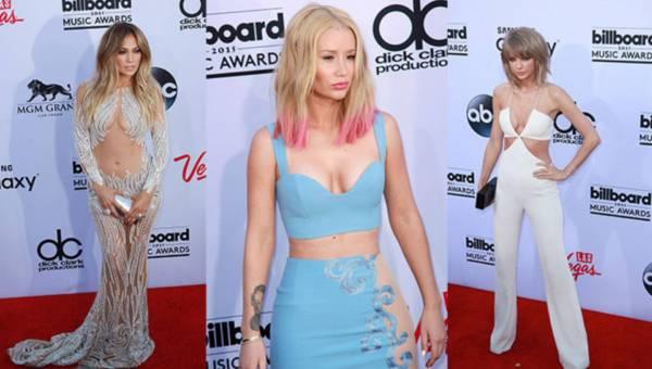 Stylizacje gwiazd na Billboard Music Awards 2015